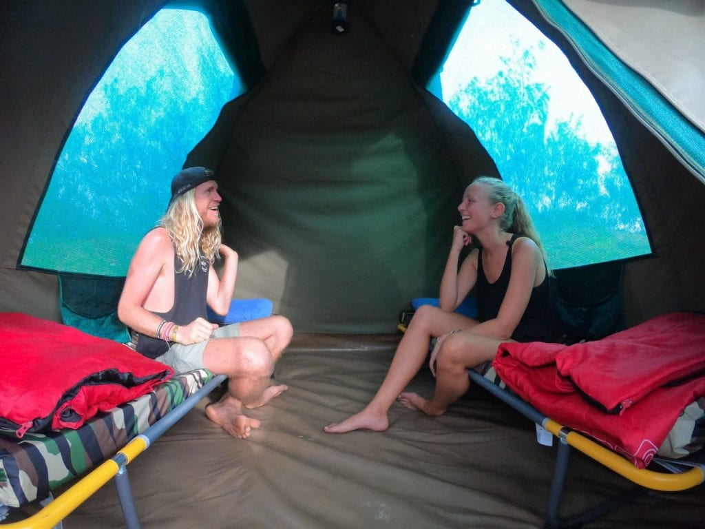 camping on fraser island